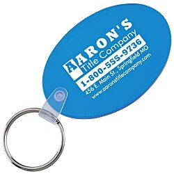 View a larger, more detailed picture of the Oval Soft Key Tag