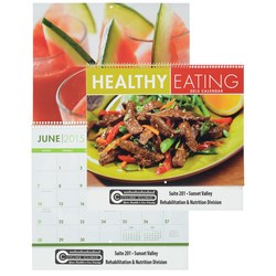 View a larger, more detailed picture of the Healthy Eating 2015 Calendar - Closeout