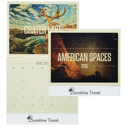 View a larger, more detailed picture of the American Spaces 2015 Calendar - Closeout