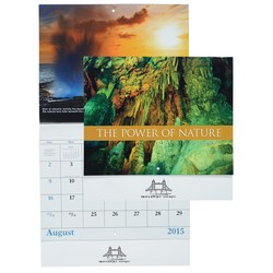 View a larger, more detailed picture of the The Power of Nature 2015 Calendar- Stapled-Closeout