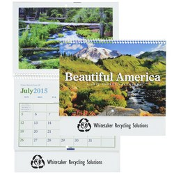 View a larger, more detailed picture of the Beautiful America 2015 Calendar - Pocket- Closeout