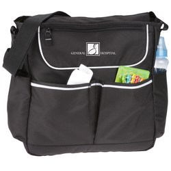 View a larger, more detailed picture of the Sweet Pea Diaper Bag Kit - Overstock