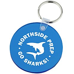 View a larger, more detailed picture of the Round Soft Key Tag