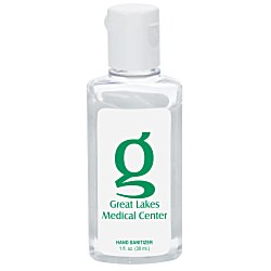 View a larger, more detailed picture of the Clean Up Hand Sanitizer - 1 oz