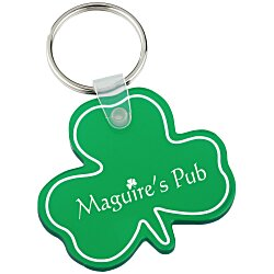 View a larger, more detailed picture of the Shamrock Soft Key Tag