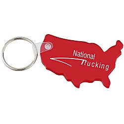 View a larger, more detailed picture of the US Soft Key Tag