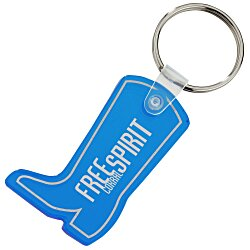 View a larger, more detailed picture of the Western Boot Soft Key Tag