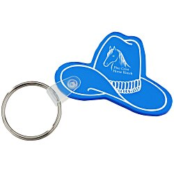View a larger, more detailed picture of the Western Hat Soft Key Tag