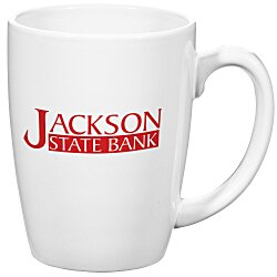 View a larger, more detailed picture of the Challenger Mug - White - 11 oz 
