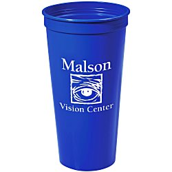 View a larger, more detailed picture of the Stadium Cup - 24 oz - Smooth
