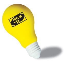 View a larger, more detailed picture of the Light Bulb Stress Reliever