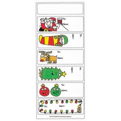 View a larger, more detailed picture of the Holiday Stickers - Fun