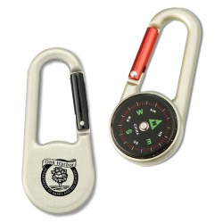 View a larger, more detailed picture of the Carabiner Compass