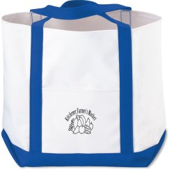 View a larger, more detailed picture of the Deluxe Polyester Tote - Small