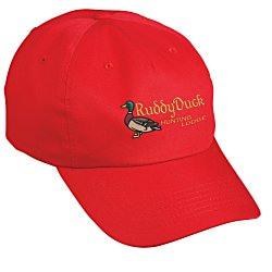 View a larger, more detailed picture of the Price-Buster Cotton Twill Cap - Emb