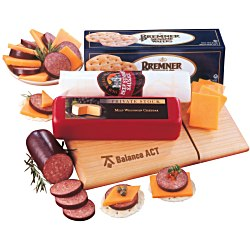View a larger, more detailed picture of the Cutting Board w Slicer Snack Package