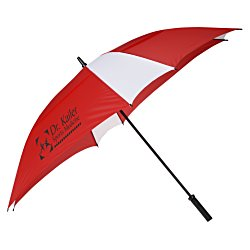 View a larger, more detailed picture of the Square Vented Umbrella