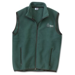 View a larger, more detailed picture of the Port Authority Fleece Full Zip Vest - Men s