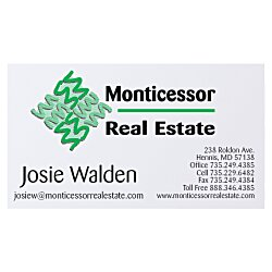 View a larger, more detailed picture of the Business Card Magnet - 30 mil