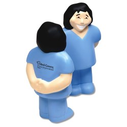 View a larger, more detailed picture of the Stress Reliever - Healthcare - Female