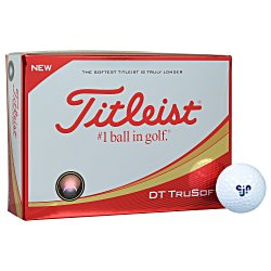 View a larger, more detailed picture of the Titleist DT So-Lo Golf Ball - Dozen - Standard