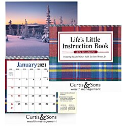 View a larger, more detailed picture of the Life s Little Instruction Book Appointment Calendar