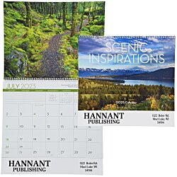 View a larger, more detailed picture of the Scenic Inspirations Appointment Calendar