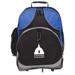 View a larger, more detailed picture of the Xpeditor Wheeled Laptop Backpack