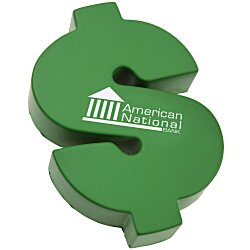 View a larger, more detailed picture of the Dollar Sign Stress Reliever