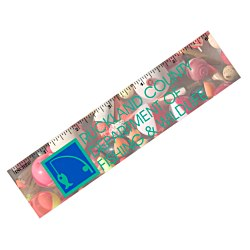 View a larger, more detailed picture of the Flat Flexible Magnet - Rectangle 1-1 2 x 6-1 4