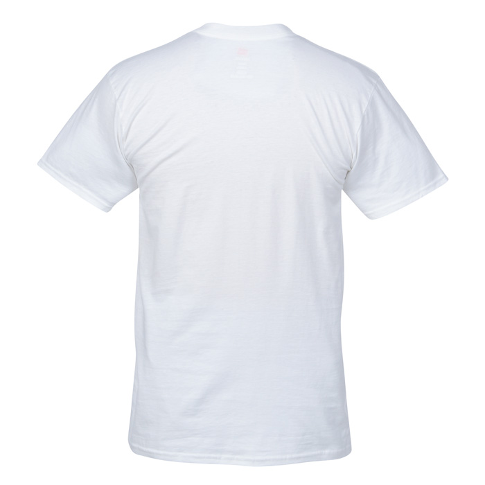 hanes nano t 4 5 oz v neck t shirt s white item no 103478 m vn w from only 4 95