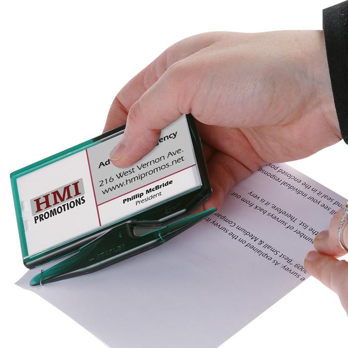 Zippy Magnetic Business Card Letter Opener � Translucent (Item No ...