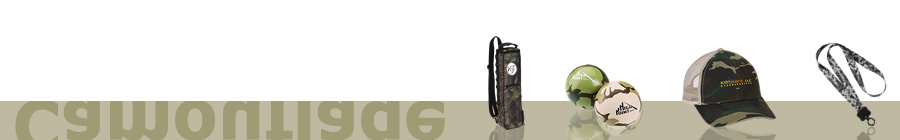 Camouflage Promotional Products