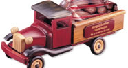 Promotional Products Packaged with Wooden Trucks